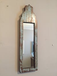 Rustic mirror from Montreal