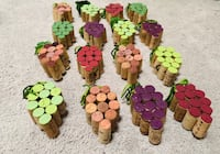 Hand crafted wine cork grape bunches! Fort Washington, 20744
