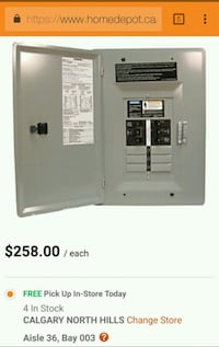 NEW* Siemens 60amp power relay panel