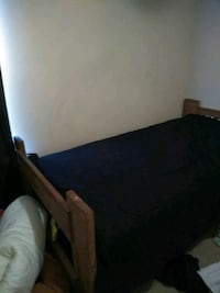 2 matching twin beds