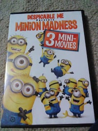 3-Mini Minion's Films-DVD Lake Mills, 53551