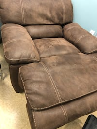 brown suede recliner sofa chair Chandler, 85224