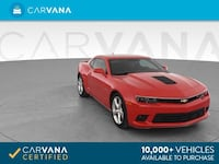 2015 Chevy *Chevrolet* *Camaro* SS Coupe 2D coupe RED Fort Myers