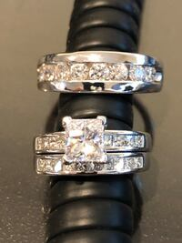 Silver-colored diamond ring San Marcos, 92078