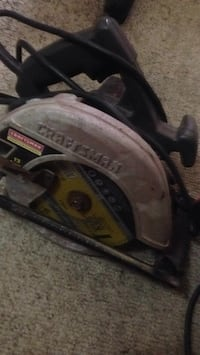 black and gray Craftsman circular saw Calgary, T3Z 5E2