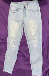 Ripped jeans from America eagle