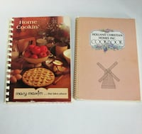 2 Vintage Cookbooks Old Fashioned Recipes  See Inf Mississauga