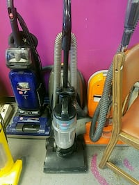 blue and black upright vacuum cleaner Houston, 77082