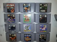 N64 Games - Individual or as Lot Milton, L9T
