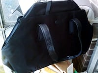 black leather 2-way handbag Toronto, M6J