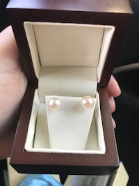 Pearl earrings 14 kt  Chico, 95973