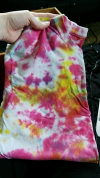 Tie dyed shirt, never worn.  Gibsonburg, 43431