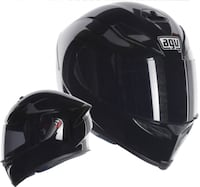 Gloss Black AGV full-face motorcycle helmet XL Frederick, 21701