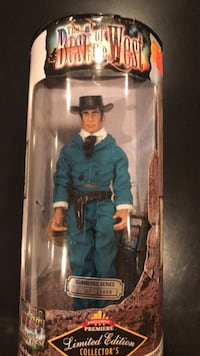 Collectables- James West (Wild, Wild West) doll. In box never played with. In smoke-free home. Montgomery Village, 20886