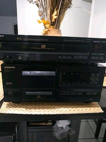 Stereo system for CD's