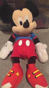 Stuffed Mickey Mouse toy. Vaughan, L4J 5L7