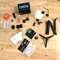 GoPro Hero 4 Black with Great Accessories 540 km