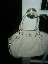 white leather 2-way handbag Silver Spring, 20901