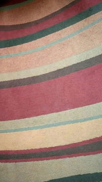 brown, black, white, and red area rug Wallasey, CH44 6QD