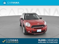 2016 *MINI* *Countryman* Cooper S ALL4 Hatchback 4D hatchback Red Brentwood