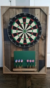 "Custom built dartboard 24""x36"" with scoreboard. Lorton, 22079"