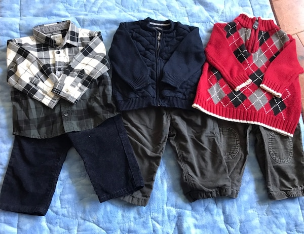 EUC 6-12month baby lot
