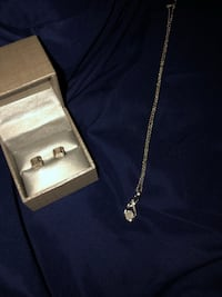 MATCHING Earring and necklace SET East Providence, 02914