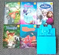 5 disney storybooks & Mickey Mouse bookrack Rochdale