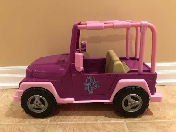 American Girl Our Generation Jeep 0365a1d9-7062-4f6b-9149-605a060528f6