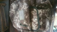 black and gray camouflage backpack Simpsonville, 29681