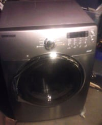 gray Samsung front-load clothes washer Sunnyvale