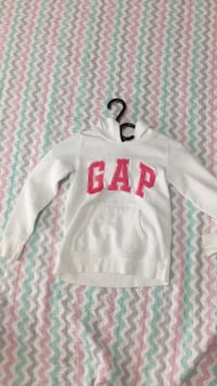 white and pink Pink by Victoria's Secret hoodie Whitby, L1R 2X6