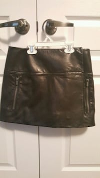 DIANE von FURSTENBERG Leather skirt Vaughan, L4H 0Z8
