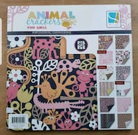 """NEW GCD Heavy Cardstock  - animal crackers for girls,  48 sheets, 12""""  Airdrie, T4B 0E4"""