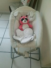 baby's white and gray bouncer Pine Castle, 32809