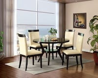 Downtown I Round Dining Set