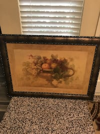 Large fruit picture. Great condition. 42 1/2 inches wide and 32 1/2 in length. Bakersfield, 93309