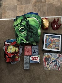 Super hero bedroom decor