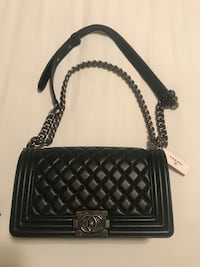 Authentic Chanle Boy Large Leather bag. Store selling price 5400$ Arlington, 22202