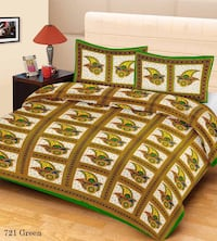 brown and white bed cover New Delhi, 110009