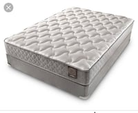 quilted white and gray mattress SACRAMENTO