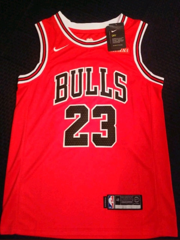 sale retailer c6a82 96c45 Michael Jordan Nike Men's Medium Swingman Jersey