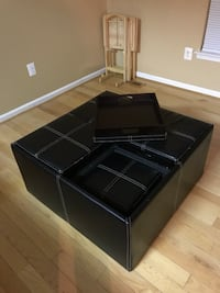 Ottoman with flip top/ food or drink tray Columbia, 21044