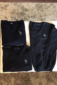 Loretto Abbey Uniform V-Neck Sweater Toronto, M3K 1A1
