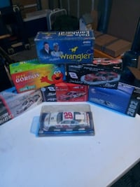 assorted labeled boxes and white car scale model pack Hughson, 95326