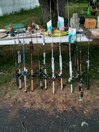 Fishing poles $25-$40 each Atwater, 44201