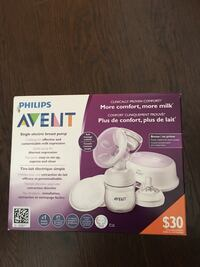 Philips AVENT NEW Single Electric breast pump - NEVER USED   Toronto, M5A 3C4