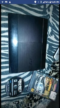 Ps3 with 2 games  Riverside, 92501
