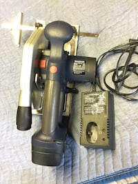 black and gray Bosch corded power drill Park Forest, 60466
