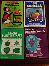 four assorted color of learning books San Angelo